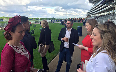 May 2017 we took a trip to the racecourses in Ascot! Great day out.